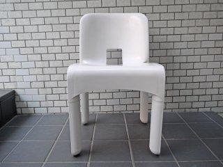 カルテル Kartell クラシカルチェア  Classical Chair 4867 ジョエ・コロンボ Joe Colombo ホワイト A ■