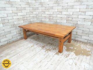 ウニコ unico ブレス BREATH ローテーブル センターテーブル チーク無垢材 ナチュラルスタイル ●