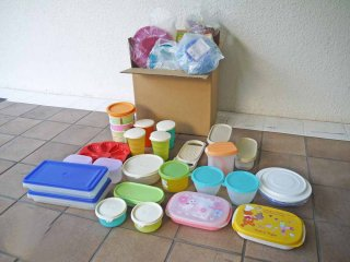 タッパーウェア Tupperware 食品 & 飲料等 容器類 詰め合わせ アラカルト / アソート セット - D ◇