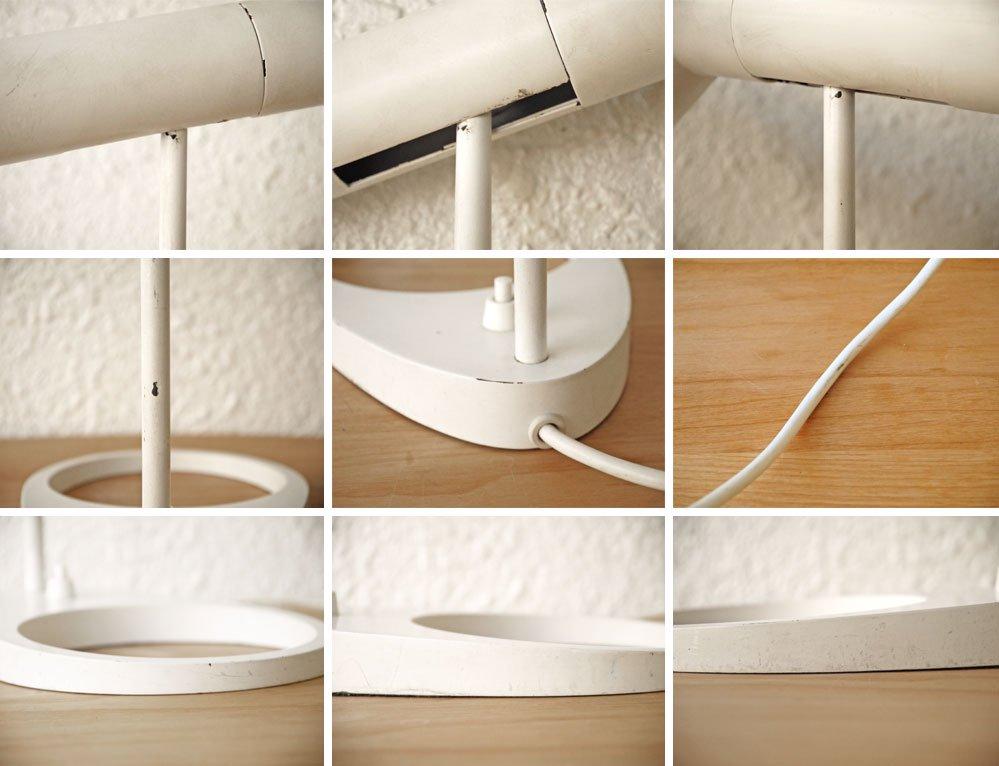 ルイスポールセン louis poulsen AJテーブル ホワイト アルネ・ヤコブセン 参考価格 \116,600- / 現行品 テーブルランプ デスクライト ◇