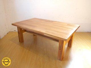ウニコ unico ブレス BREATH ローテーブル センターテーブル チーク 無垢材 ★