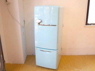 ナショナル National ウィル WiLL Fridge mini 冷蔵庫 162L ターコイズ カラー 2004年製 ★