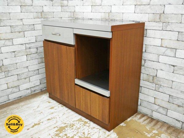 ウニコ unico ストラーダ STRADA キッチンカウンター W900 オープンタイプ 定価 ¥86,184- 収納家具 ♪