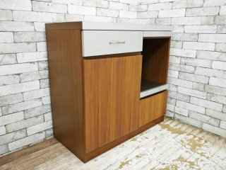ウニコ unico ストラーダ STRADA キッチンカウンター W900 オープンタイプ 定価 ¥86,184- 収納家具 ●