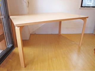 天童木工 Tendo メープル杢目 T-2524MP-NT ダイニングテーブル シンプルモダン 原 好輝 幅 140cm ★