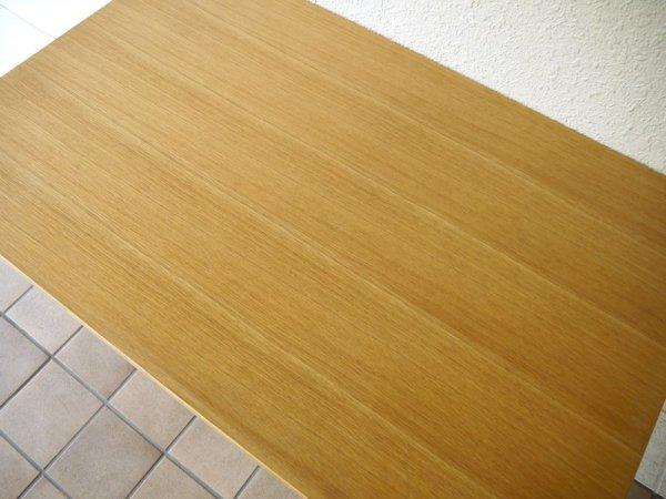 ウニコ unico 現行 ファニート FUNEAT ダイニングテーブル ( デスク ) W1200 オーク × スチール スクールスタイル カフェスタイル インダストリアルスタイル ◇