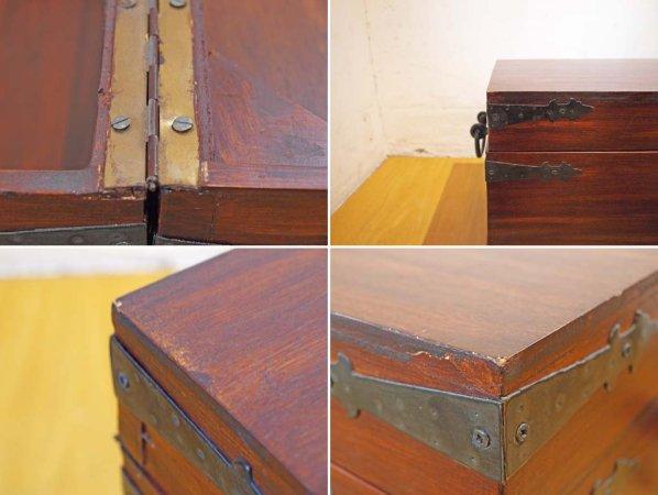 イギリス ブランケットボックス Blanket box アスプルンド取扱い スツール ベンチ収納 ★