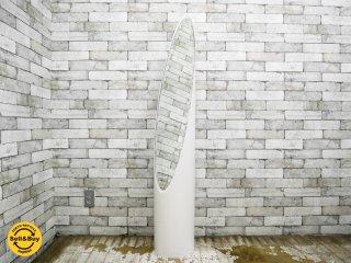 スペースエイジデザイン リップスティック ミラー 姿見 ホワイト ●