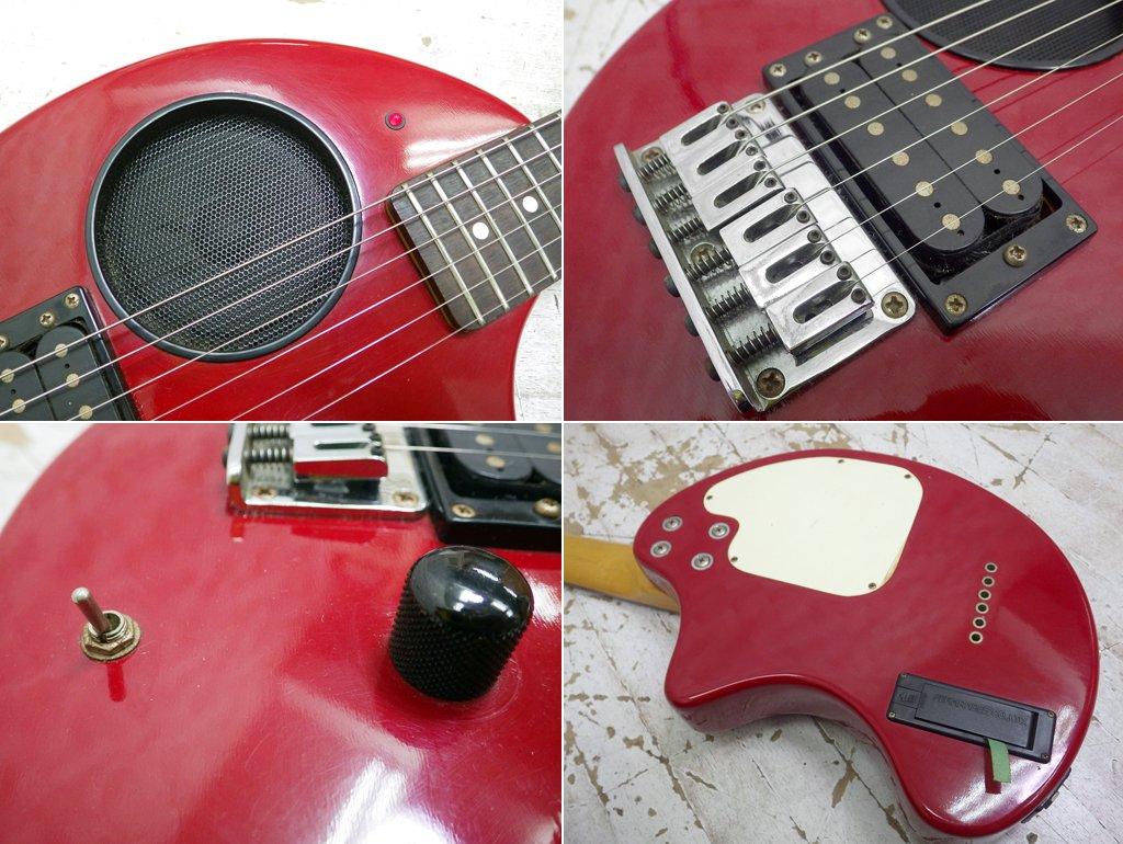 フェルナンデス Fernandes ZO-3 アンプ内蔵エレキギター レッド ゾーサン ●