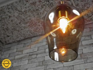ニューライトポタリー NEW LIGHT POTTERY リリー Lily ブラウン ペンダントランプ 照明 CIBONE シボネ 取扱 ●
