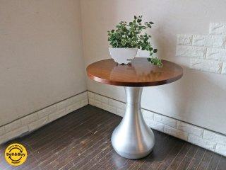 イデー IDEE ドロップテーブル DROP TABLE カフェテーブル サイドテーブル 廃番 定価約11万円 ◎