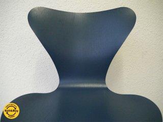 フリッツハンセン Fritz Hansen 美品 セブンチェア Seven Chair アルネヤコブセン Arne Jacobsen 廃番 C-ash ペトロールカラー (近年リリース.ver) ◇