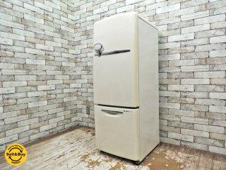ナショナル National ウィル WiLL 冷凍冷蔵庫 ホワイト 2007年製 165L NR-B172R-W 廃番 ノスタルジック ●