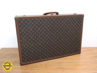 ルイヴィトン Louis Vuitton モノグラム ビンテージトランク 75x50cm 真作保証 ●