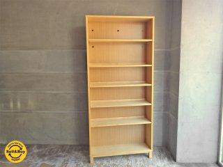 無印良品 MUJI 組み合わせて使える木製収納 本棚 シェルフ ミドルタイプ 奥行21cm A ♪
