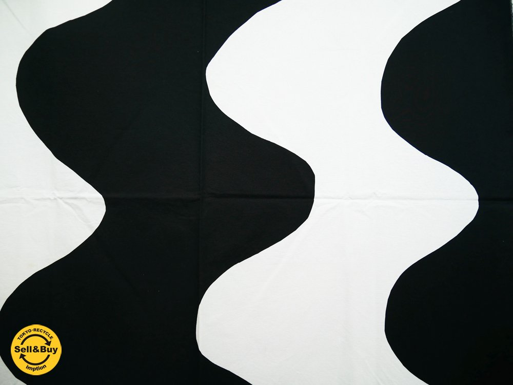 マリメッコ marimekko ロッキ LOKKI 100×145 ビンテージ ファブリック 生地 マイヤ・イソラ 北欧雑貨 ●