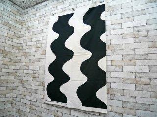 マリメッコ marimekko ロッキ LOKKI 101×146 ビンテージ ファブリック 生地 マイヤ・イソラ 北欧雑貨 ●