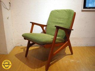 Svegards Markaryd スウェーデン ミッドセンチュリー ラウンジチェア 北欧 ビンテージ Lounge chair 1シーター ソファ ★