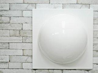 ヴェルナー・パントン Verner Panton ウォールエレメント WALL ELEMENT FRP製 ホワイト スペースエイジ リプロダクト C ●