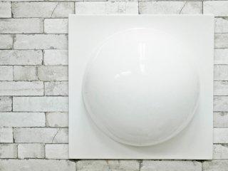 ヴェルナー・パントン Verner Panton ウォールエレメント WALL ELEMENT FRP製 ホワイト スペースエイジ B ●