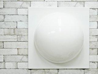 ヴェルナー・パントン Verner Panton ウォールエレメント WALL ELEMENT FRP製 ホワイト スペースエイジ A ●