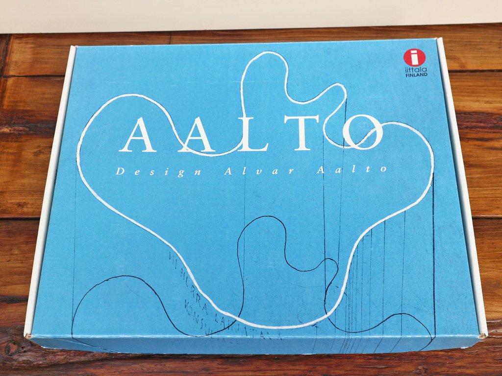 イッタラ iittala アルヴァ・アアルト Alvar Aalto 生誕100周年限定 Model 9770 1998年 ガラス プレート ◎