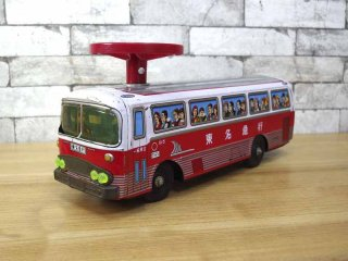 ビンテージ 東名急行 ブリキのバス ◎