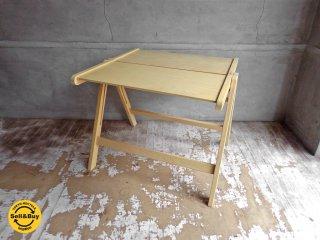 レックス REX フォールディング テーブル ニコ・クラリ デザイン プライウッド  ♪