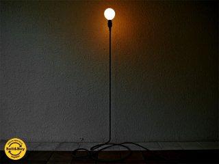 デザインハウス ストックホルム DESIGN HOUSE stockholm コードランプ CORD LAMP 裸電球 フロアライト 廃番 希少 ◇