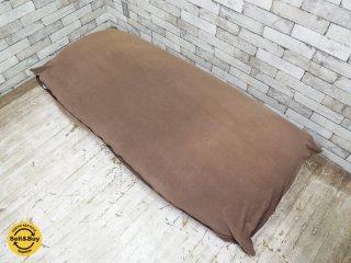 ヨギボー yogibo マックス MAX ビーズ ソファ クッション ブラウン ●