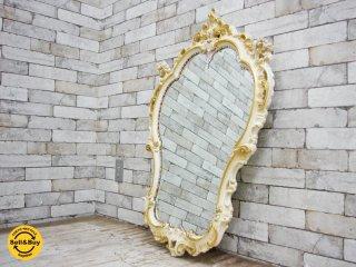 シリック SILIK ロココ調 エレガントスタイル ウォールミラー 鏡 ●