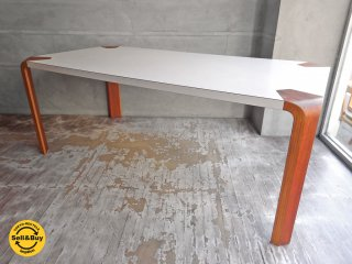 天童木工 Tendo アントラーテーブル Antler Table ダイニングテーブル メラミントップ チーク W180cm ♪