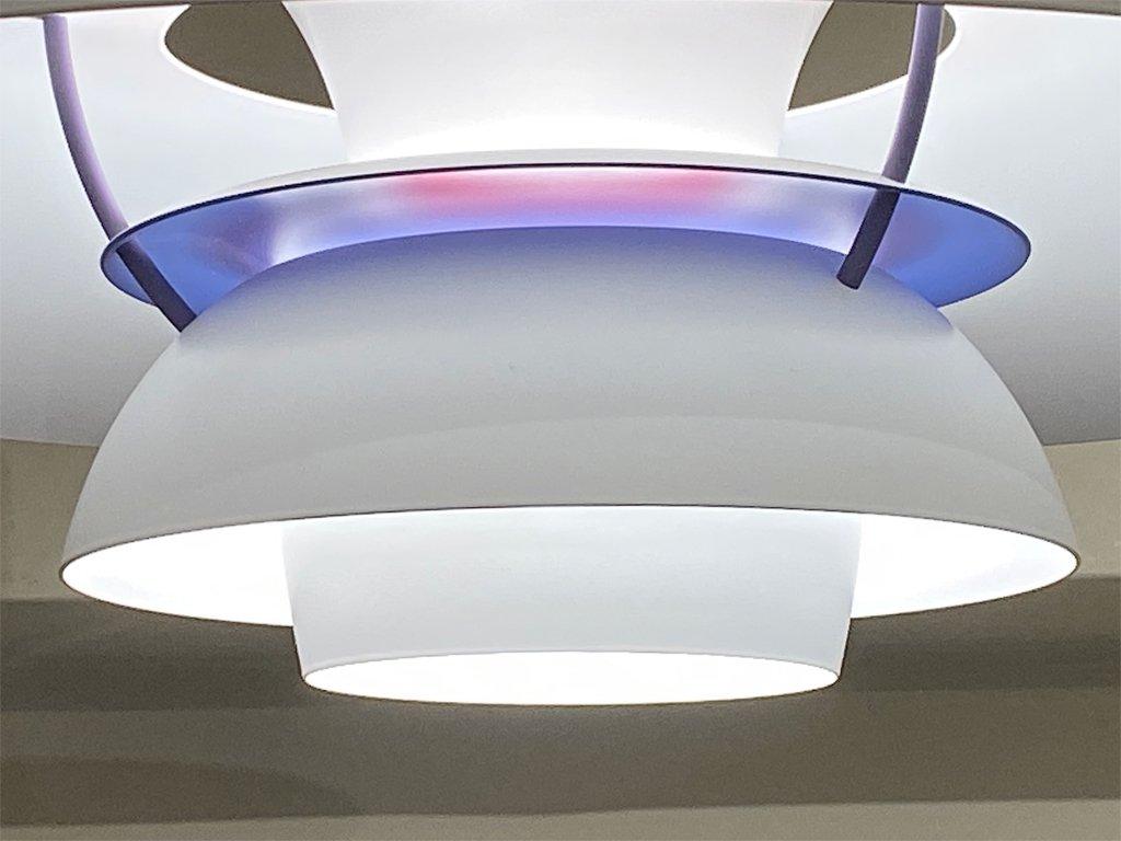 ルイスポールセン Louis Poulsen PH5+ クラシック ペンダントライト ポール・ヘニングセン Poul Henningsen ホワイト 箱付き 北欧 デンマーク ■