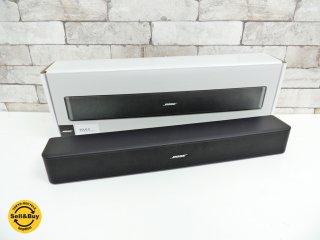ボーズ BOSE solo 5 tv sound system サウンドバー スピーカー 美品 オーディオ ●