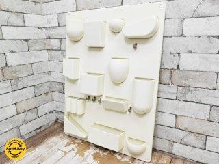 デザインM Design M. ウーテンシロ2 Uten.Silo2 ホワイト 西ドイツ製 ビンテージ インゴ・マウラー ドロシー・ベッカー ●