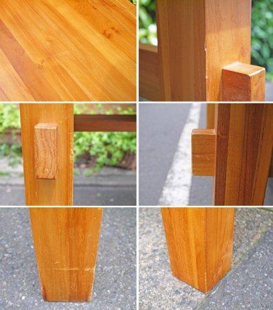ウニコ unico ブレス BREATH ダイニンクテーブル チーク材 幅140cm 天然木無垢材シリーズ ■