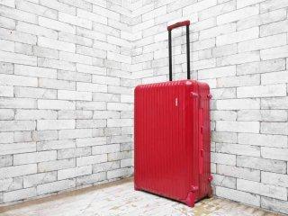 リモワ RIMOWA サルサ SALSA キャビントローリー スーツケース 86L 2輪 レッド ●