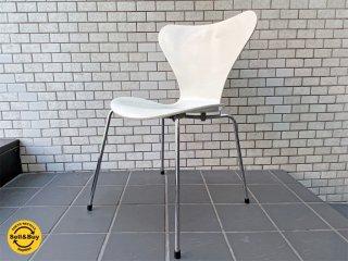 フリッツハンセン Fritz Hansen セブンチェア Seven Chair アルネヤコブセン Arne Jacobsen ホワイトラッカー ■