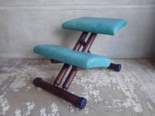 ストッケ STOKKE マルチバランス MALTI balans バランスチェア 学習椅子 レザー仕様 北欧 ノルウェー♪