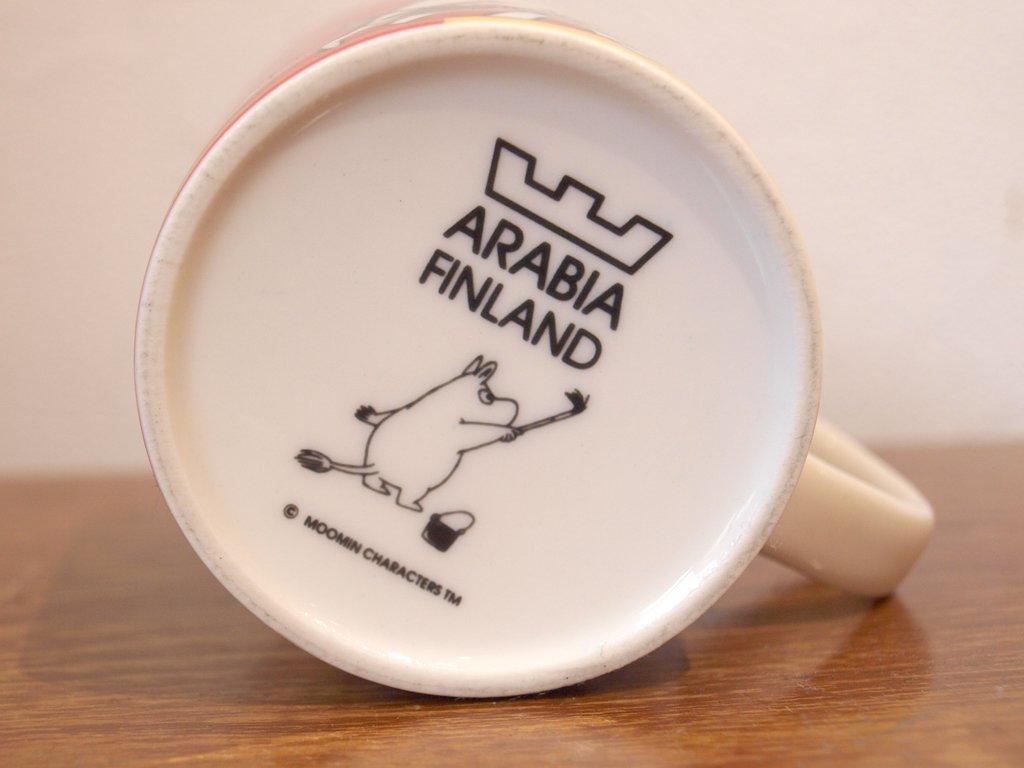 アラビア ARABIA FINLAND ムーミン Moomin 2002年〜2009年 2011年復刻 『ファミリー Family』 マグカップ ★