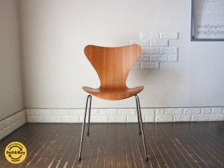 フリッツハンセン Fritz Hansen セブンチェア Seven Chair アルネヤコブセン Arne Jacobsen チェリー ◎