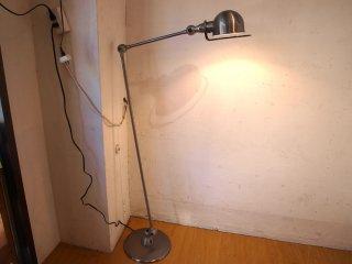 ジェルデ Jielde フロアランプ 1240 Floor Lamp ブラッシュドスチール フランス インダストリアル P.F.S取扱 ★