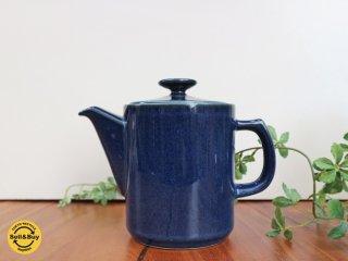 北欧 デンマーク desire コーヒーポット ブルー 陶器 ◎