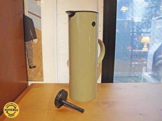 ステルトン Stelton  クラシック バキュームジャグ Vacuum Jug EM77 サーモジャグ 1.0リットル Thermo モスグリーン 魔法瓶 水筒 ボトル 未使用保管品 ★