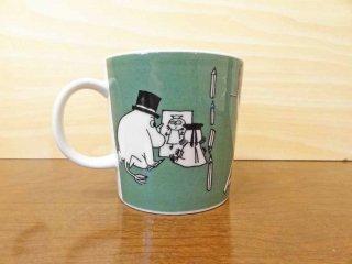 アラビア ARABIA フィンランド マグカップ ムーミンマグ Drawing ドローイング マグカップ 希少・廃盤 1996〜2002年 北欧食器 B ◇