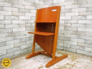 モイジ MOIZI モイジチェア1 ベビーチェア ステップアップチェア 子供椅子 チェリー材 ドイツ ●