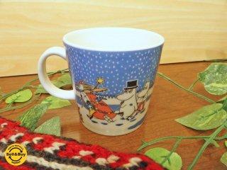 アラビア ARABIA フィンランド マグカップ ムーミンマグ クリスマス Christmas 2004〜2005年限定品 トーベ・ヤンソン 北欧食器 ◇