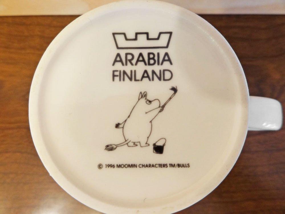 アラビア ARABIA フィンランド オフィス Office ムーミン マグカップ 1996-2002 トーベ・ヤンソン Tove Janson イエロー 廃番 希少 北欧食器 B ◇