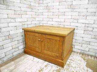 カントリースタイル Country Style 木製 ローボード メープル材 ●
