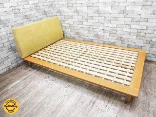 イデー IDEE オレイエ OREILLER ベッドフレーム セミダブル ビーチ無垢材 ナチュラル ●